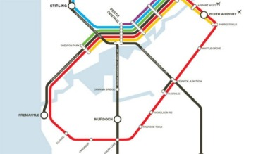 2020's Train map, bringing the Eastern suburbs the railway.