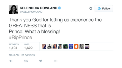 042116-celebs-celebs-reacts-to-prince-kelly-rowland